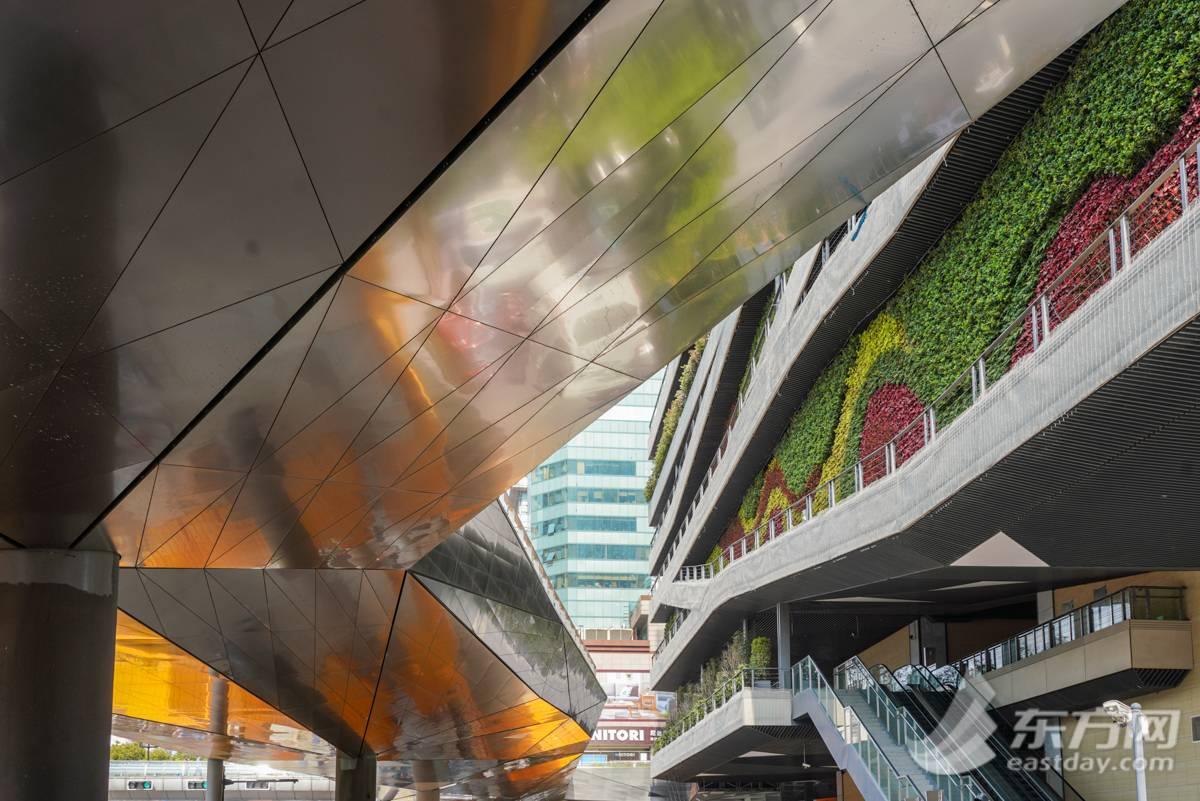 """徐家汇连廊一期已完成70% 未来建成""""空中花园"""""""
