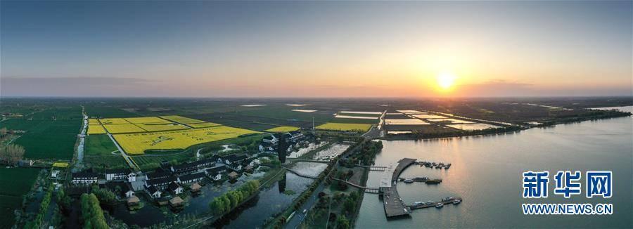(春季美丽生态)(3)春和景明白马湖