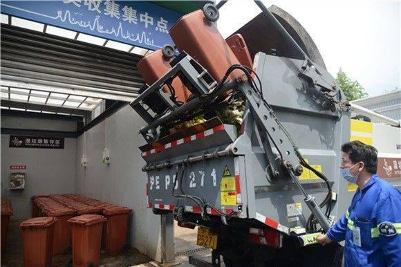 上海沿街商铺生活垃圾上门分类收集全覆盖 看看这些街道镇是怎么做的