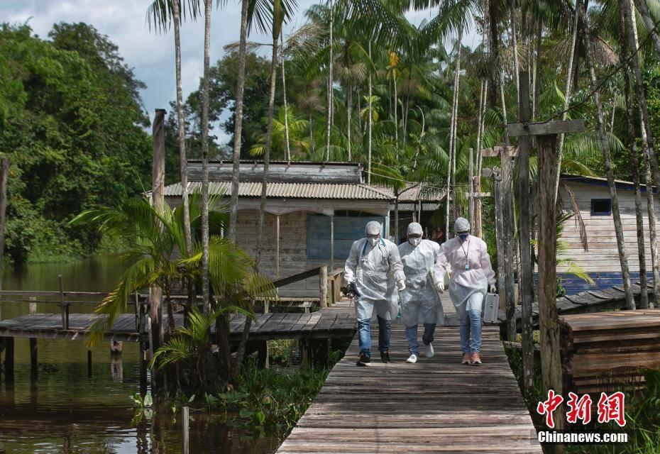 拉美地區疫情加劇 巴西確診數升至全球第二