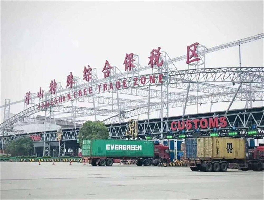 """走进洋山四期""""无人之境"""" 上海如何联动长三角打造世界级港口群"""