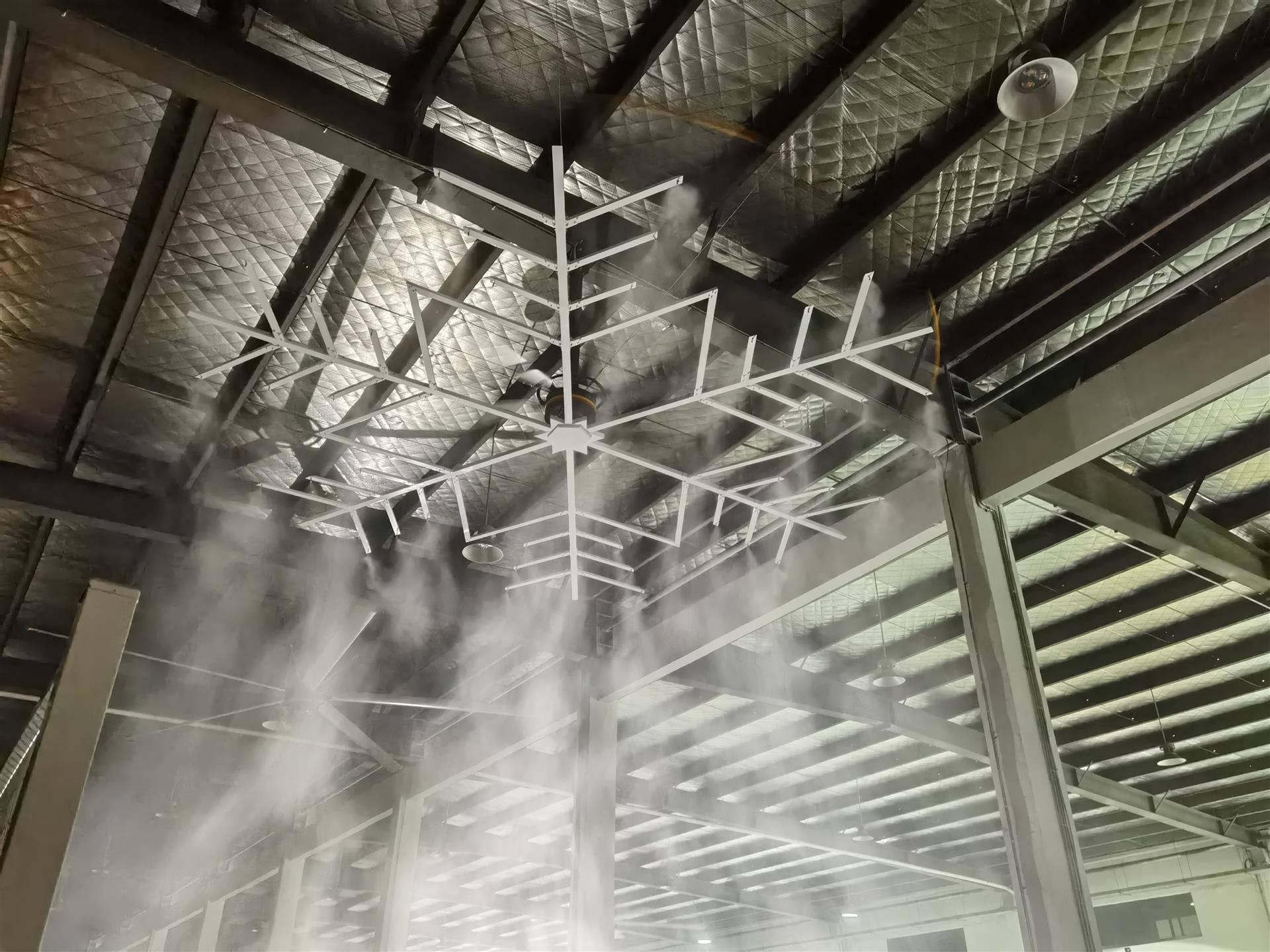 一款兼具降温和消杀功能的电扇即将投入生产,解困高大空间消杀难题