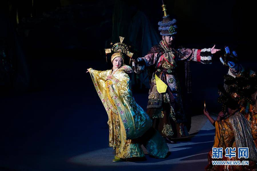 (文化)(4)大型实景剧《文成公主》再度上演