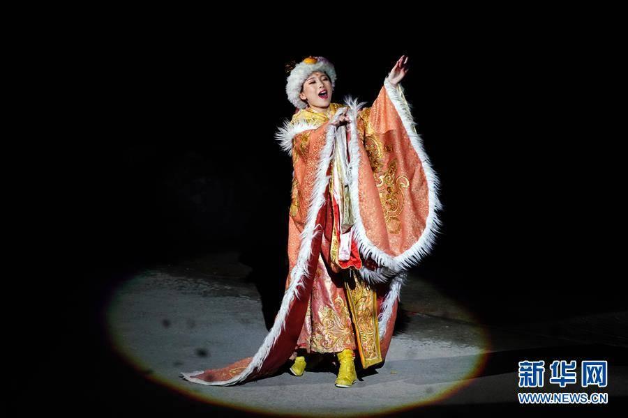 (文化)(5)大型实景剧《文成公主》再度上演