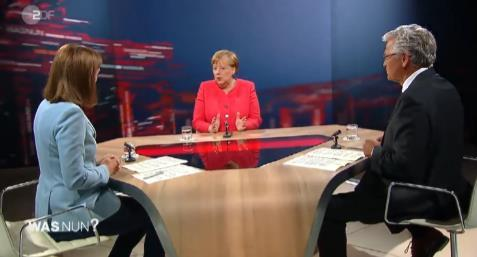 德国总理默克尔:美国两极分化严重,其它不能多