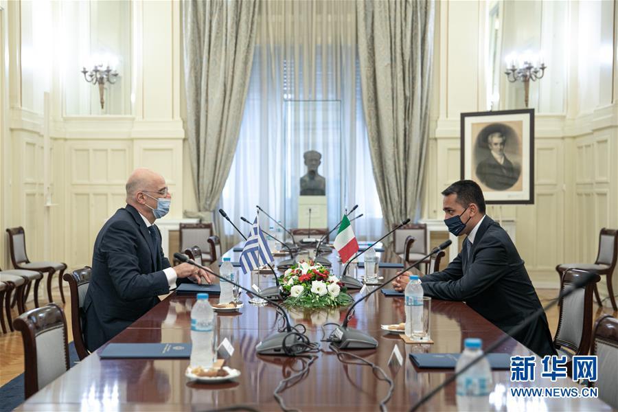 希腊和意大利签署海上边界协议
