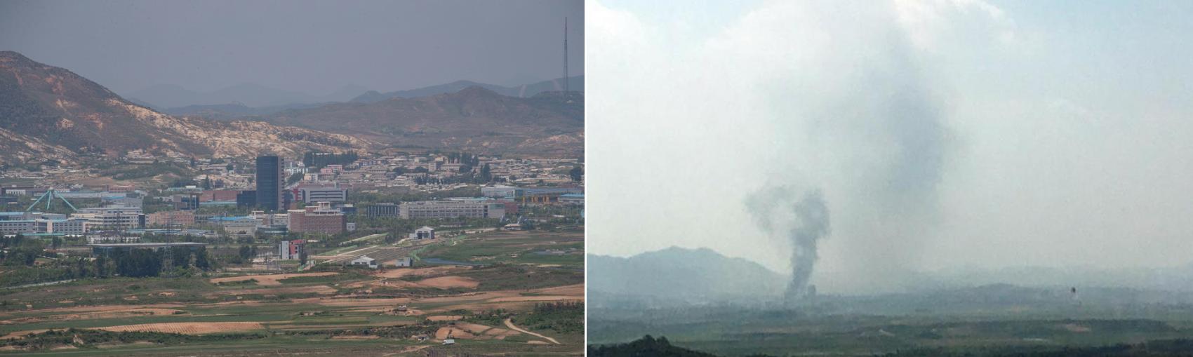 """三八线爆破声背后的半岛困境:朝鲜的""""烫手山"""