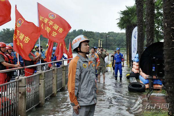 首次!長三角人防一體化水上應急救援演練在滬