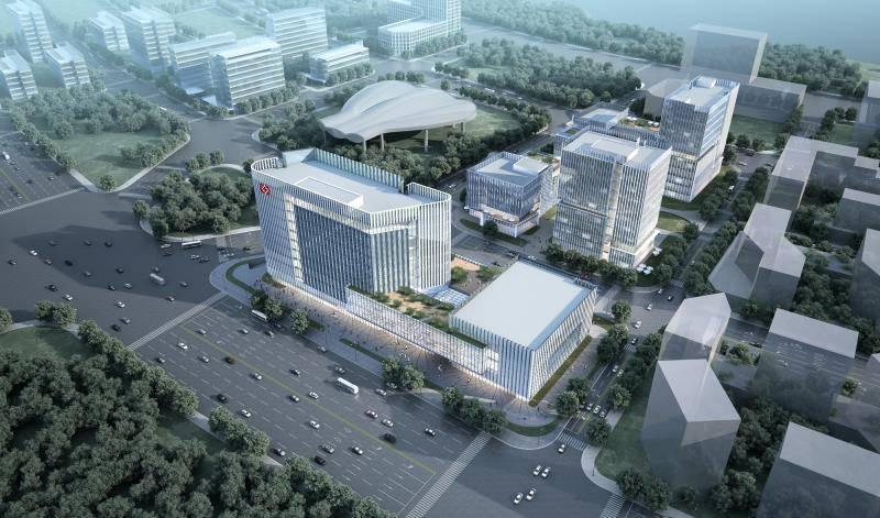 兴港城项目今日启动!2022年为临港新增地标性商业配套建筑