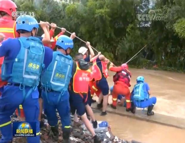 《【杏耀平台app登录】新闻特写:洪水中的生命救援》