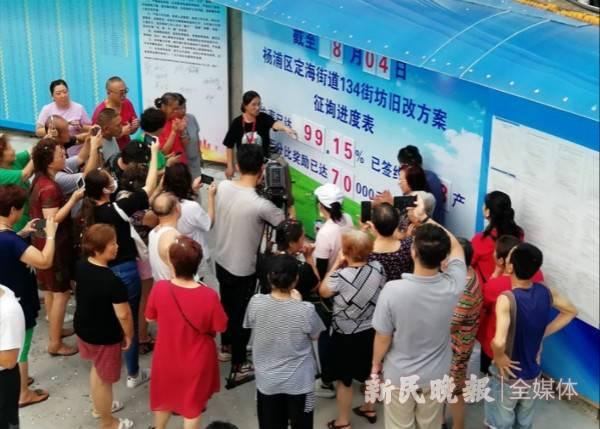 """杨浦今年旧改征收任务已完成90% 又一地块""""二次征询""""达到协议生效比例条件"""