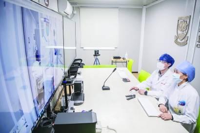 """上海医院开建全国首个""""5G医疗新基建""""项目"""