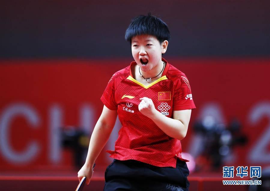 (体育)(1)乒乓球——奥运模拟赛:孙颖莎女单夺冠