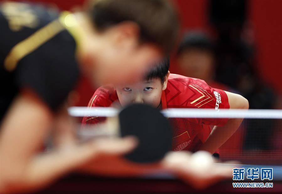 (体育)(4)乒乓球——奥运模拟赛:孙颖莎女单夺冠