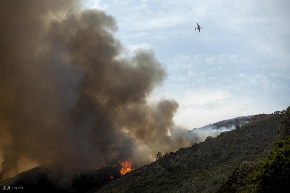 美国加州再次发生山火