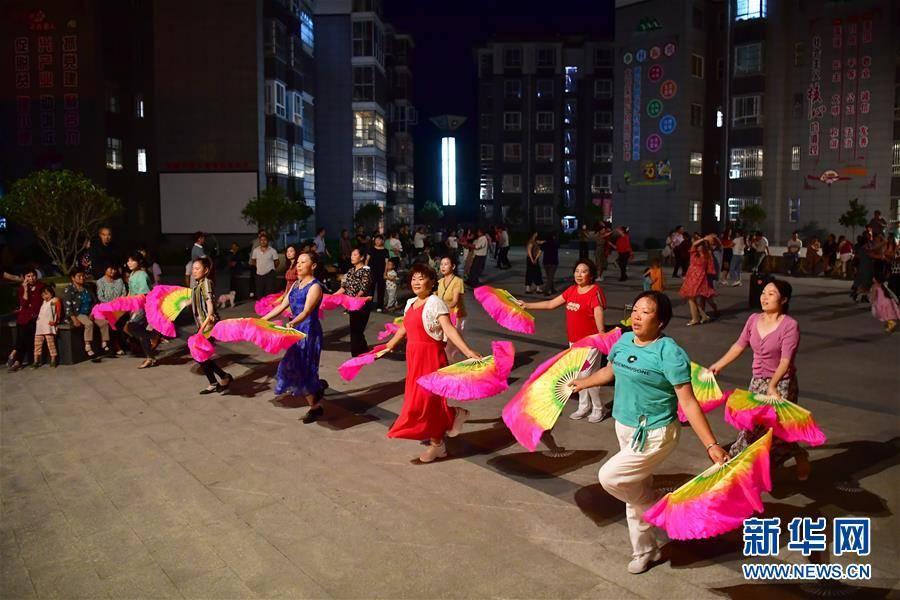 走向我们的小康生活丨陕南地区:搬迁社区 生活多彩