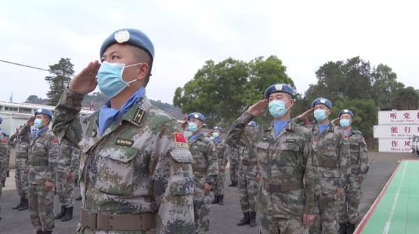 中國赴剛果(金)第23批維和部隊第一梯隊啟程