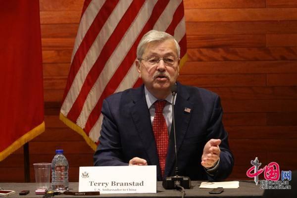 美国驻华大使发表离任声明