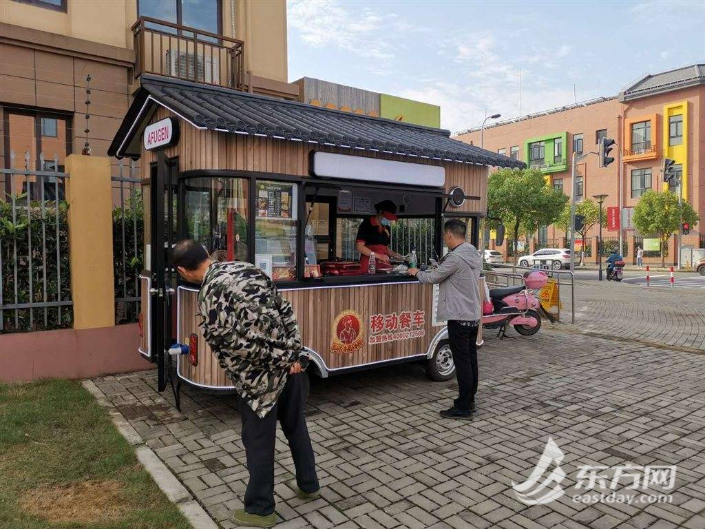 从早餐卖到晚饭,上海这个区域的高颜值流动餐车来了