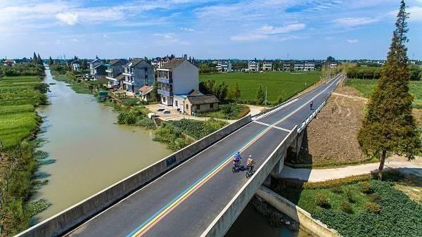 骑游长三角田园乡村 观赏生态G5发展之路