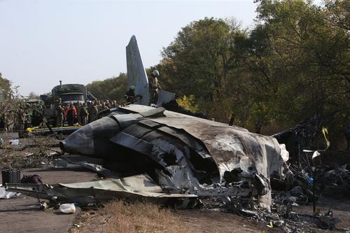 烏克蘭軍機墜毀事故死者升至26人