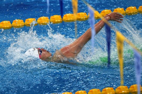 全國游泳錦標賽,這些名將紛紛倒在了體能測試