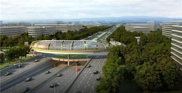 北翟路地面道路零点通车 提高虹桥商务区交通运力