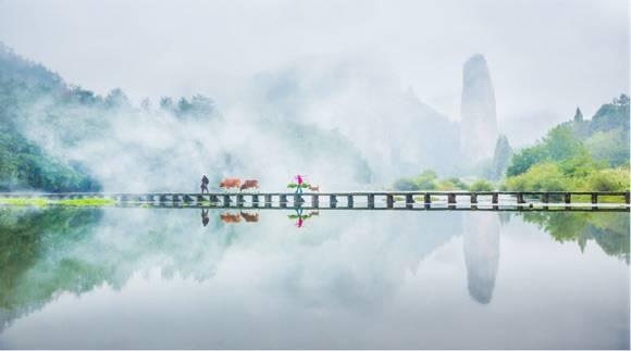 长三角新晋5A景区仙都来沪推介 向上海市民送出旅游大礼包