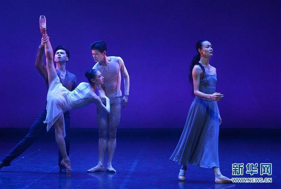(文化)(4)现代芭蕾作品《绽放》在沪演出