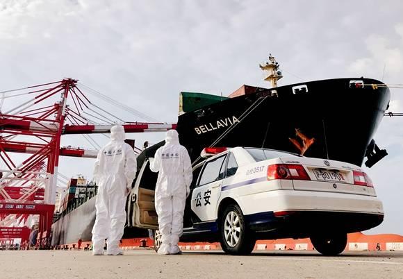 半小时运进60余吨展品 第三届进博会展品密集运抵上海口岸
