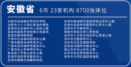 首批长三角异地养老机构名单发布,20城57家养老机构入选