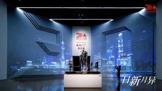 致敬人民力量!浦东开发开放30周年艺术展惊艳开幕