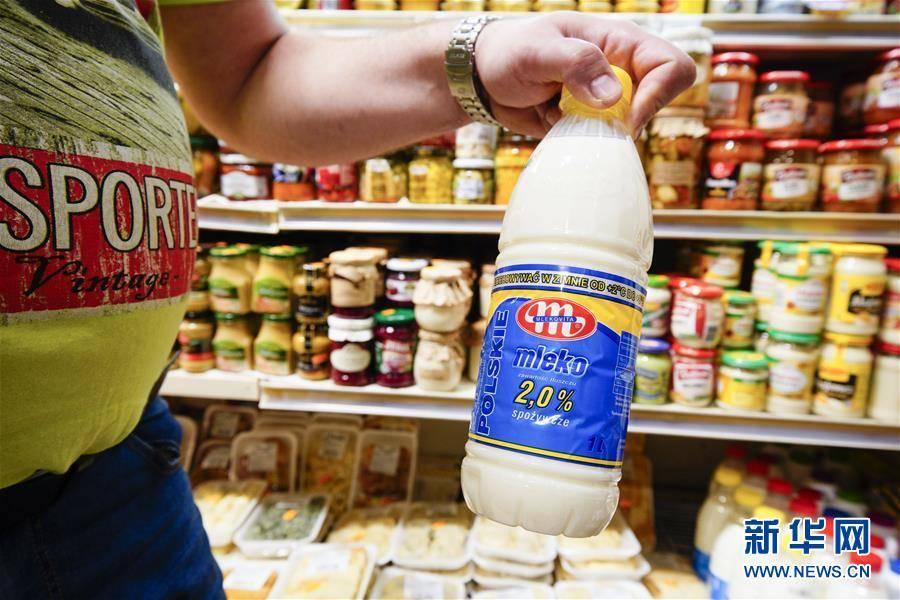 """(国际)(5)出口中国""""备战""""双十一的波兰牛奶"""