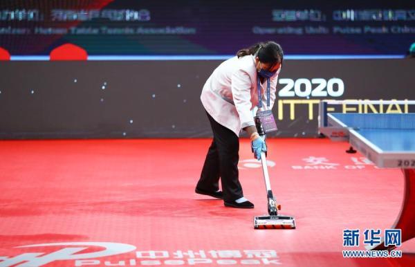国际乒联总决赛:赛事保障有序进行