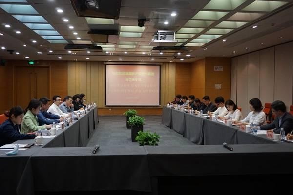 韩国驻沪经贸代表团参观考察上海特色园区