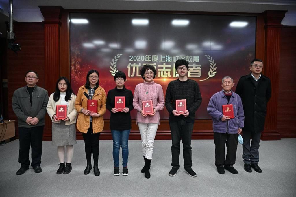 上海社区教育助学志愿者超过6万人