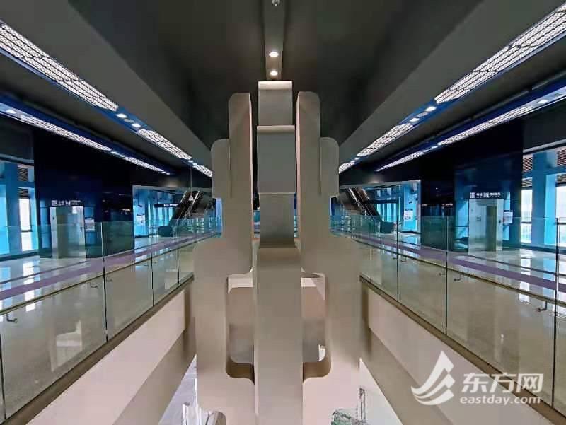 全国自贸区首座地铁站来了!10号线二期年内开通试运营