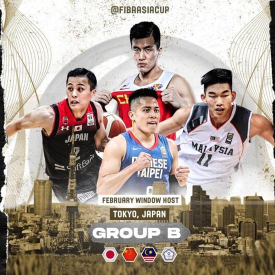 定了!亚预赛中国男篮比赛将于2021年2月在东