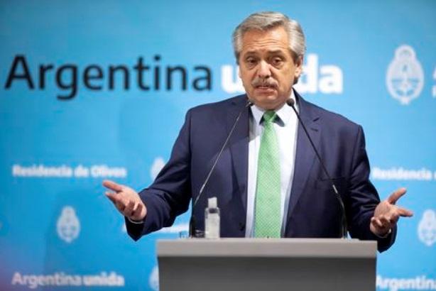 阿根廷总统愿带头打新冠疫苗