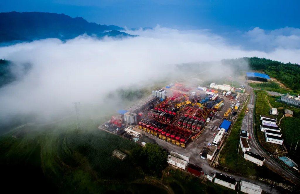 中國石油在川建成300億戰略大氣區
