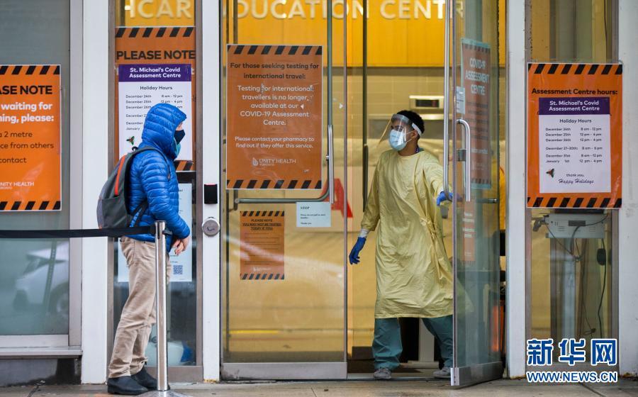 加拿大累計新冠確診病例超過60萬例