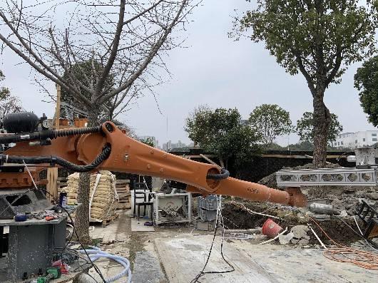 正在打印中!上海首个混凝土3D打印图书屋1月中下旬开放