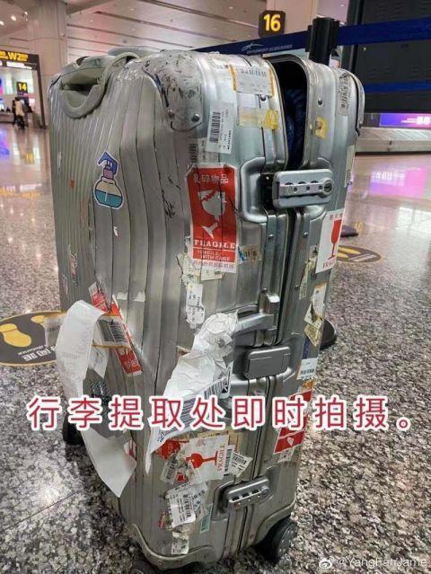 8000元行李箱摔瘪赔500元,航司理赔为何遭诟