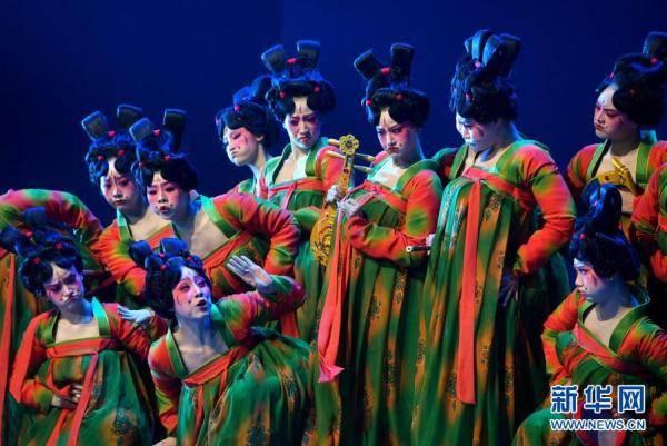 摩登5娱乐2021年河南春晚上,舞蹈节目《唐宫夜宴》火遍网络,受到众多网友赞誉(图18)