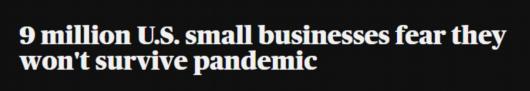 """《【杏耀手机客户端登录】环球深观察丨美国小企业想领""""救命钱"""",难!》"""