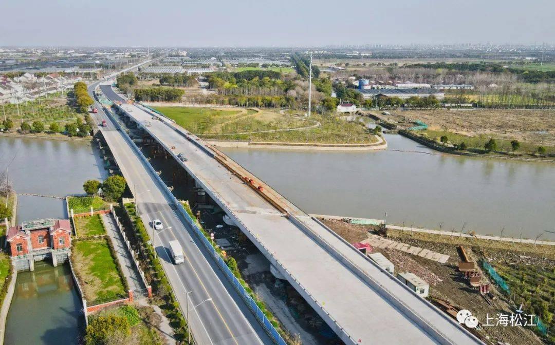 沪机场联络线进入基坑开挖阶段 叶新公路新改建工程迎来重要节点