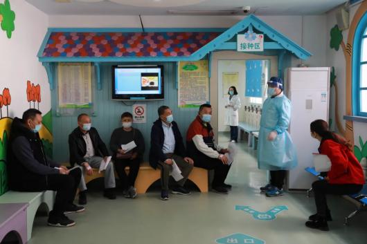直击现场丨普陀正式启动60至75岁人群新冠疫