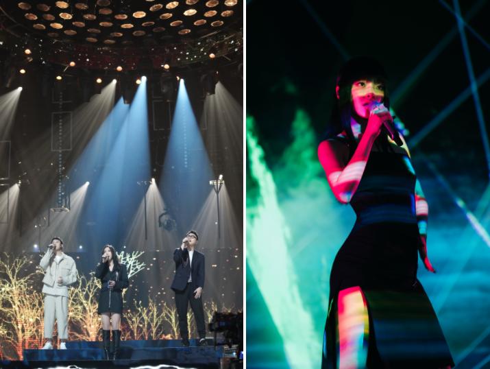 """星辉平台注册《为歌而赞》第四期节目在浙江卫视和抖音同步播出,随着第二赛段的新热歌曲阵营转换,歌手们在舞台上的精彩""""过招""""也呈现出了更多看点(图5)"""