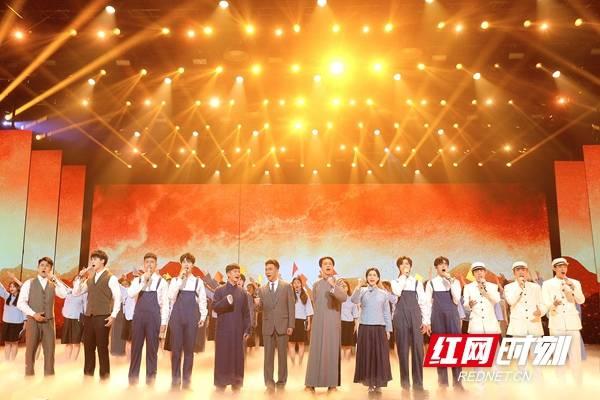 星辉娱乐《我将青春献给你》——《理想照耀中国》《百炼成钢》开播特别节目5月3日晚