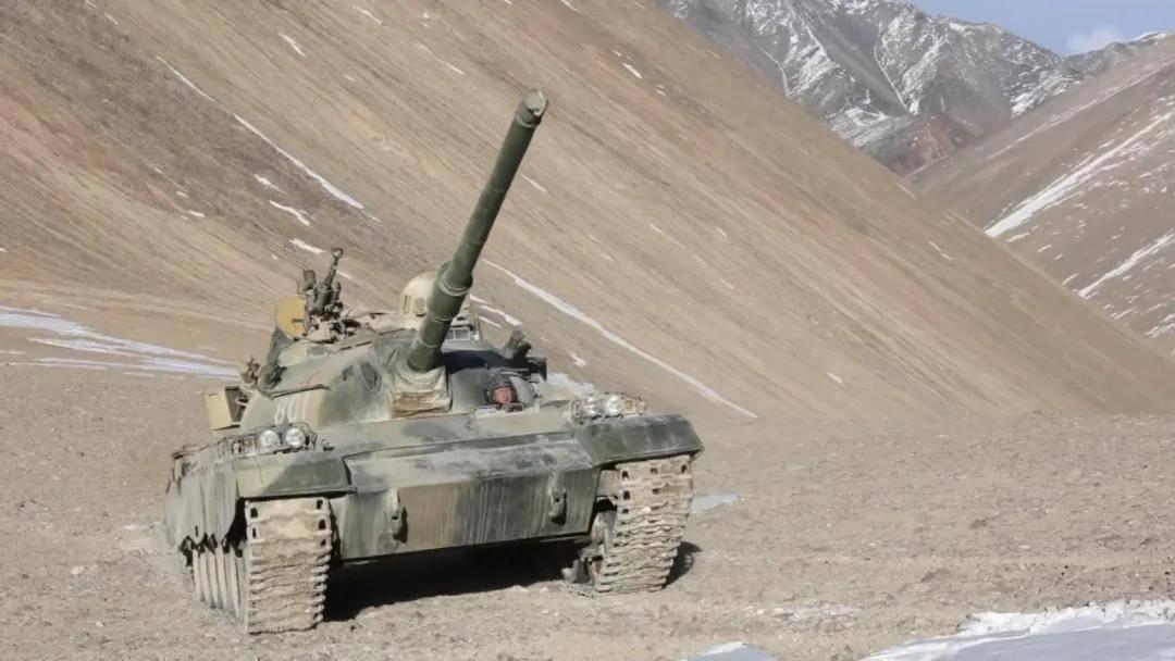 技术改造突破性能屏障!88A坦克在5300米高原极限机动
